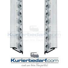 2x Airlineschiene Zurrschiene Halbrundprofil - 2 Meter - light Ladungssicherung