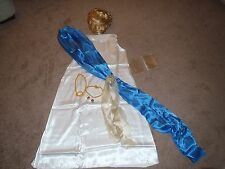 Helen of Troy Roman Greek Gladiator Goddess Queen Halloween Costume Womens 8-10