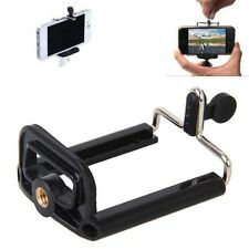 Universal Mobile Cell Phone Camera Stand Clip Holder mount Bracket Adapter Tripo