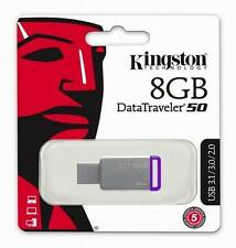 8GB Kingston Data Traveler DT50 USB 3.0 Flash Drive Drive Memory Stick