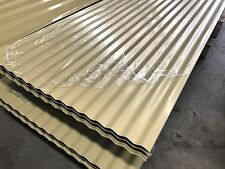 Colorbond Corrugated Roofing Steel Sheets Cream Color $8.25 L/M