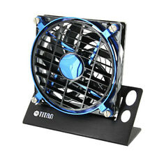 TITAN Speed Control USB Fan Blue Desktop 140mm mini style PC Fan TTC-NF01TZ/BB