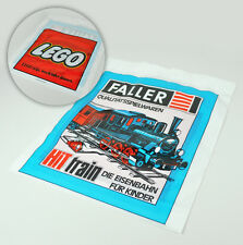 alte Einkaufstüte - Faller & Lego - Hit train - old Shopping Bag - Modellbau