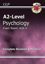A2-Level Psychology AQA A Complete Revision & Practice by CGP Books...