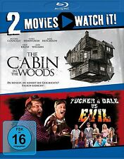 2 Blu-rays * 2 MOVIES - THE CABIN IN THE WOODS / TUCKER & DALE EVIL # NEU OVP §