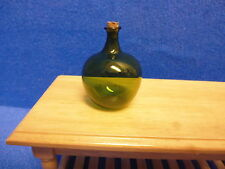 1/12 scale   GREEN GLASS CARBOY with CORK      MC1100G