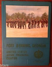 1968 U. S. ARMY BASIC SCHOOL YEARBOOK, CO. B, 6th BN., 2nd BR., FORT BENNING, GA