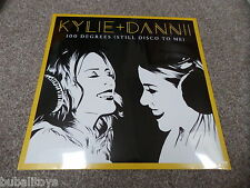 "Kylie + Dannii Minogue - 100 Degrees (Still Disco To Me) 12"" Clear Vinyl Record"