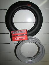 VESPA 50 PK - XL RUSH 1989 V5X4T KIT WHEEL 3 00 10 TIRE AIR CHAMBER RIM