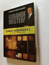I Grandi Misteri di Roberto Giacobbo Leonardo Michelangelo & C. Vite Segrete Dvd