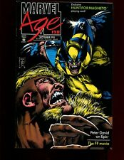 MARVEL AGE 128(8.0)(VF)WOLVERINE VS SABRETOOTH-MARK TEXIERA-MARVEL(b030)
