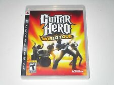 Guitar Hero: World Tour (Sony Playstation 3, 2008)  **COMPLETE**
