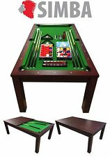 7 Ft Pool Table Billiard Indoor Sports with coverage plan incl. Mod.Green Star