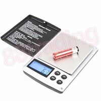 Small Mini Digital Pocket Size Weighing Weigh Scale 0.1g - 1kg