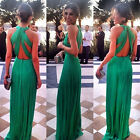 Women Long Formal Prom Dress Cocktail Party Ball Gown Evening Bridesmaid Dress