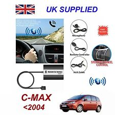 For Ford CMAX Bluetooth Hands Free Phone AUX Input MP3 USB Charger Module 12 Pin