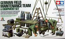 Tamiya 1/35 German Field Maintenance Team & Equipment Set # 37023