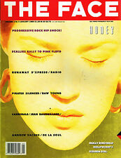 THE FACE January 1989 MOLLY RINGWALD Andrew Vachss S'XPRESS Jean Baudrillard EXL