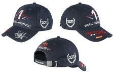 RED BULL RACING RBR SEBASTIAN VETTEL 2011 WORLD CHAMPION CAP FORMULA 1 INFINITI