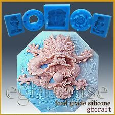 Dragon- Silicone Food Grade Chocolate/Fondant Mold