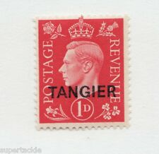 1937 Sc# 516 * MH vf Morocco Agencies Tangier overprinted KGVI 1d stamp