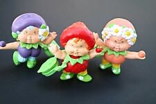 Custom Berrykin Strawberry Peach Plum Set of 3 Berrykin Critter Doll Shortcake