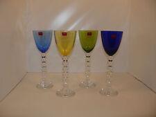 Set x4 Vega bicchiere vino del Reno / Vega Rhine wine glass / Crystal