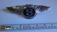 BENTLEY Azure Turbo R Brooklands Arnage REAR TRUNK BOOT BADGE EMBLEM GENUINE NEW