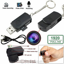 Full HD 1920x1080 Mini Hidden USB Spy Camera Video Recorder DVR Cam Camcorder UK
