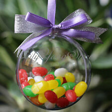 10cm Christmas Decorations Hanging Ball Round Bauble Xmas Tree Outdoor