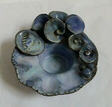 ❀ڿڰۣ❀ BALLAS STUDIO POTTERY ❀ FLOWER FAIRY LILY POOL ❀ TEA LIGHT Candle HOLDER