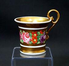 Tasse en porcelaine de PARIS XIXème