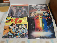 STAR TREK SEALED LP  RECORD PETER PAN RECORDS lot of 4 LP's (3 new ~ 1 used)