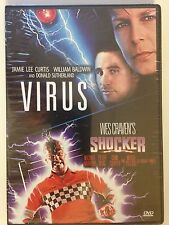 Shocker/Virus Double Feature (DVD, 2015)