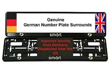 SMART CAR NUMBER PLATE SURROUNDS