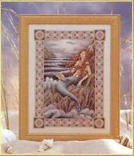 NEW TERESA WENTZLER MERMAID BEAUTIFUL CROSS STITCH CHART
