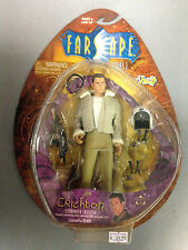 2000 TOY VAULT FARSCAPE SERIES 1 COMMANDER JOHN CRICHTON ACTION FIGURE SET