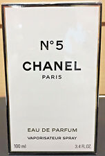 Chanel No 5 Eau de Parfum 3.4 oz / 100 ML Spray New Sealed