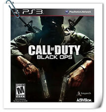 PS3 CALL OF DUTY BLACK OPS SONY PlayStation Shooting Games Activision