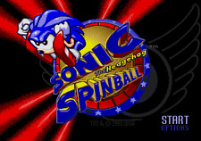 SONIC SPINBALL - SEGA GENESIS Game Only