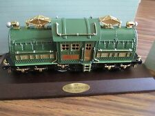 Classic Train Collection 1928 Locomotive 381E Lionel 1992 Avon Never Displayed