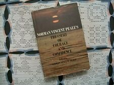Norman Vincent Peale's Treasury of Courage and Confidence (1970 HCDJ)