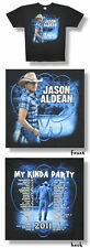 Jason Aldean Plaid Shirt 2011 Tour  - T-Shirt XL NEU US Import!!!