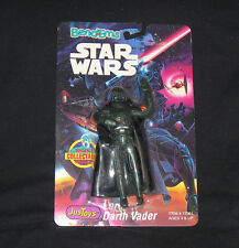 Justoys Star Wars Bend Em DARTH VADER Action Figure VINTAGE CARDED RARE 1993 NEW