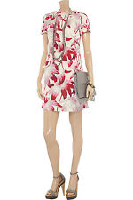 NEW MARNI Printed cotton-blend  DRESS $810 Size IT 42  US 6 PRINTED FLORAL