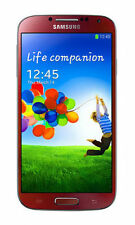 Samsung Galaxy S4 GT-I9500 - 16GB - Red Aurora (Unlocked) Smartphone