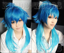 103 Dramatical Murder DMMd AOBA Long Blue mix cosplay wig free shipping