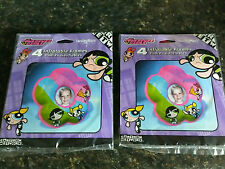 8 Powerpuff Girls Inflatable Picture Photo Frames Cartoon Network New In Pkg