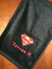 Superman Personalized Golf, Bowling, Sport or Disc Golf Towel Any Team