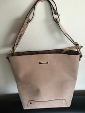 River Island Beige Large Bucket Bag New No Tags